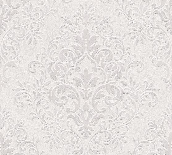 Jette Joop Wallpaper ornament grey white metallic 33924-6 online kaufen