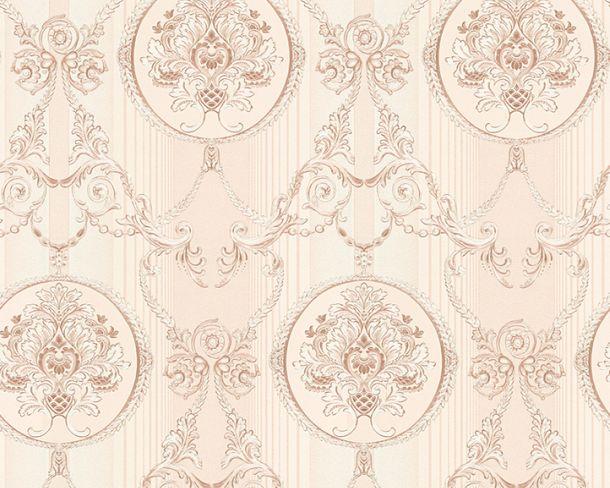Tapete Vlies Ornament rosa Glanz Hermitage 33083-5 online kaufen
