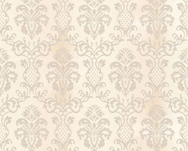 Tapete Vlies Ornament Barock beigecreme Glanz Hermitage 33545-3 online kaufen