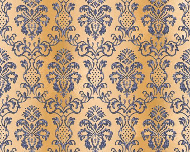 Tapete Vlies Ornament Barock beigegold Glanz Hermitage 33545-4