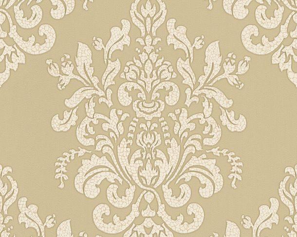 Tapete Vlies Barock champagner Glanz Hermitage 34143-3 online kaufen