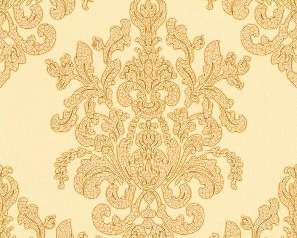 Tapete Vlies Barock beige gold Glanz Hermitage 34143-4 online kaufen