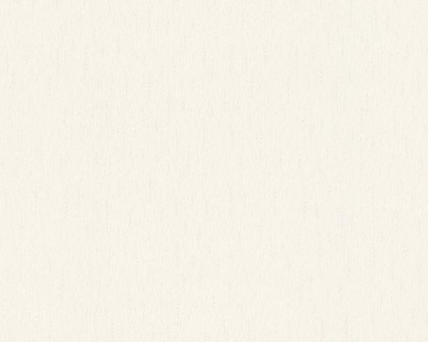 Tapete Vlies Uni Design cremeweiß metallic Hermitage 34276-1 online kaufen