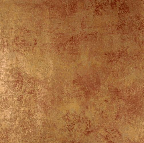 Non-Woven Wallpaper Patina Plaster brown Metallic 77706