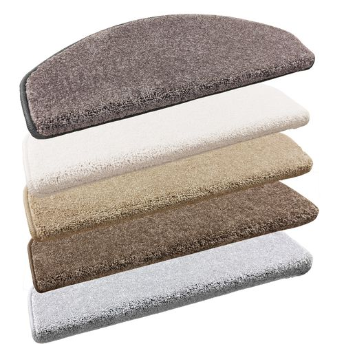 Set of 10-30 Shaggy Stair Tread Mats Opulent Staircover 28x65cm buy online