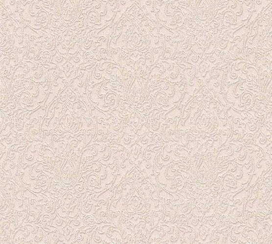 Tapete Vinyl Barock Klassik cremebeige Glitzer AS 33866-2 online kaufen