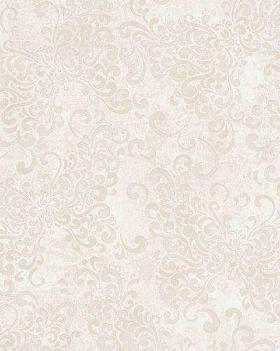 Tapete Vlies Barock creme Glanz Marburg 58652 online kaufen