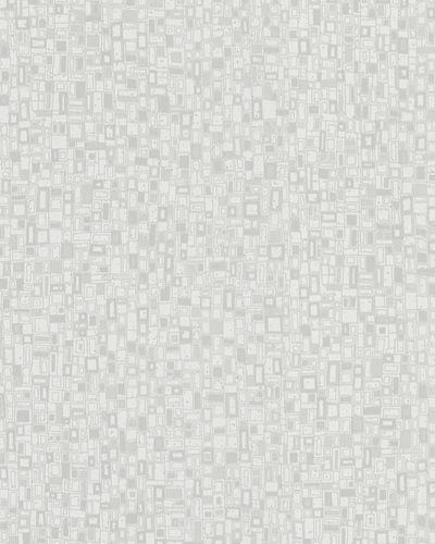Tapete Vlies Grafik weißgrau Glanz Marburg 57871 online kaufen