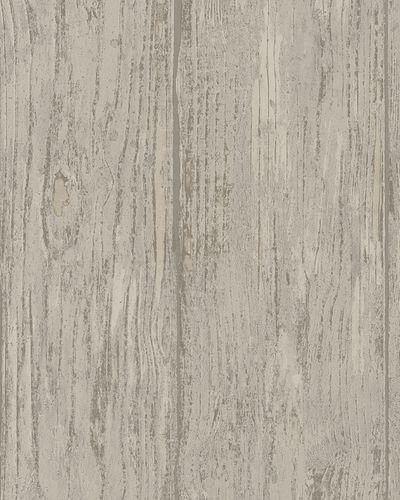 Tapete Vlies Holz Bretter beige Marburg 57877