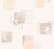 Non-Woven Wallpaper Kitchen coffee recipe beige 32733-1 1