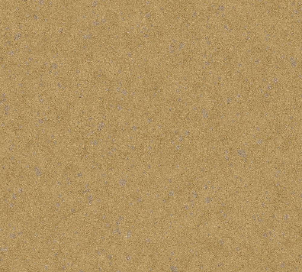 tapete vlies tropfen ockerbraun metallic as creation 33986 3. Black Bedroom Furniture Sets. Home Design Ideas