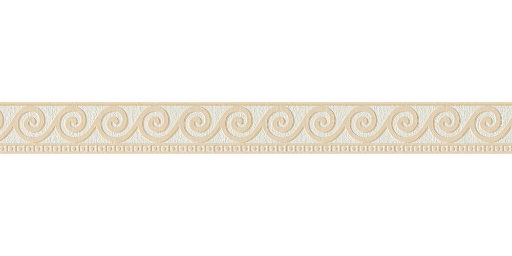 tapetenborte bord re wellen wei beige as 2592 19. Black Bedroom Furniture Sets. Home Design Ideas
