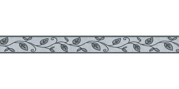 Wallpaper Border self-adhesive leaves Floral grey 2622-19 buy online