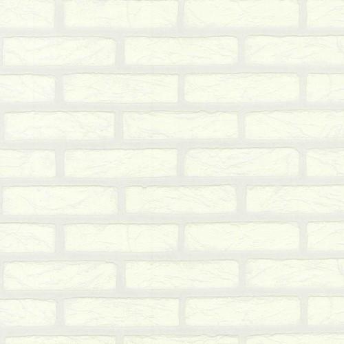 Steintapete p s schaum tapete ziegel steinmauer wei 09136 30 for Ziegel tapete