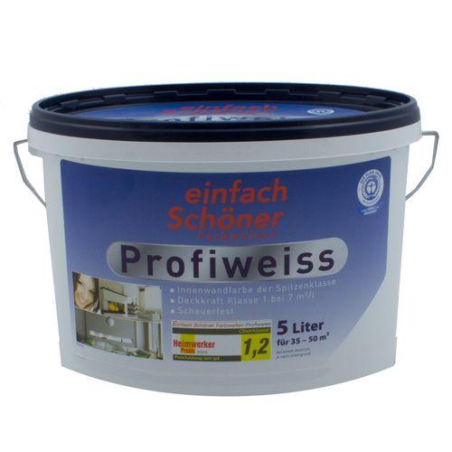 Profiweiss Wandfarbe Einfach Schöner Farbe Innenfarbe 5l online kaufen