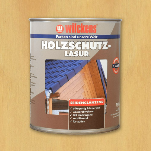 Wood Stain Pine 750ml Wilckens Protection Glaze