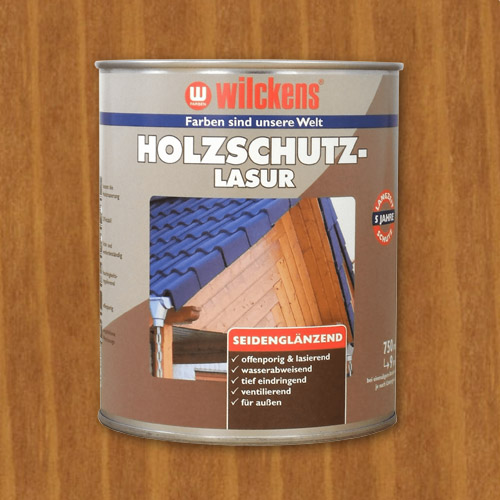 Wood Stain Oak 750ml Wilckens Protection Glaze