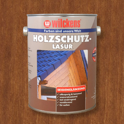 Wood Stain Teak 5 litres Wilckens Protection Glaze