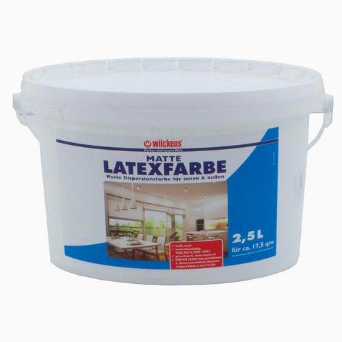 Latexfarbe Wilckens Farbe matt innen/außen weiß 2,5l online kaufen