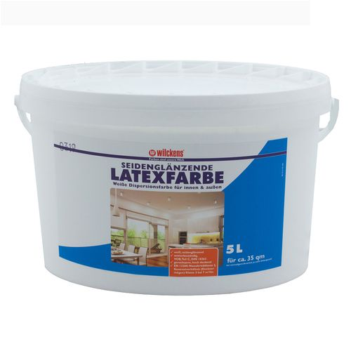 Latex Paint Silk Gloss 5 liters Wilckens Latex Coating  online kaufen