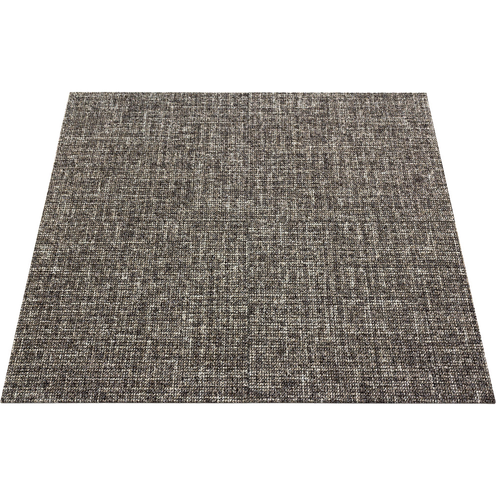 Commercial Carpet Tile Rug Floor Heavy Duty Brown