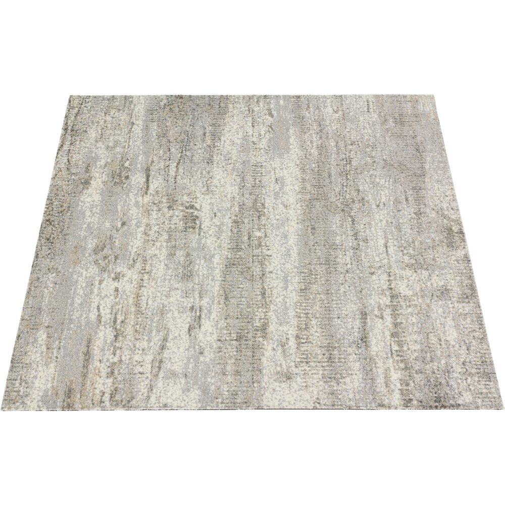 Wood style carpet tile rug flooring grey brown 100x25 cm for Grey brown floor tiles