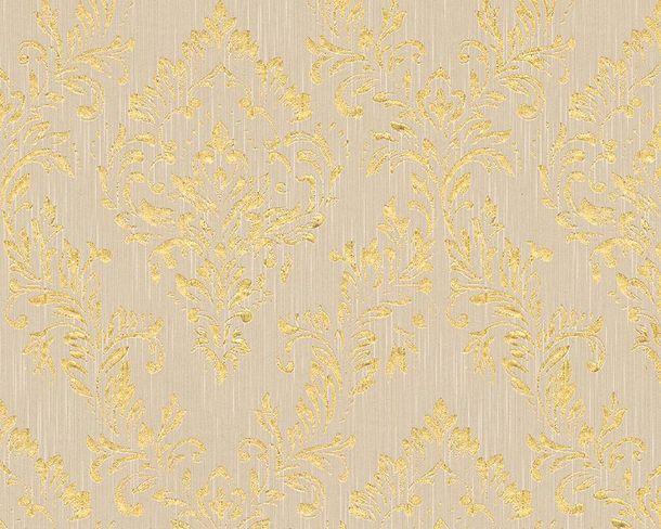 Tapete Textil Barock beigegrau gold Architects Paper 30659-2 online kaufen