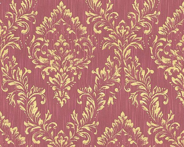 Tapete Textil Barock hellrot gold Architects Paper 30659-6 online kaufen