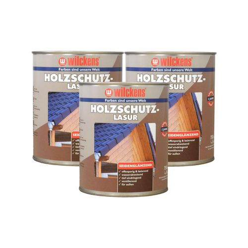 Wood Stain 7 Colours 750ml Wilckens Protection Glaze