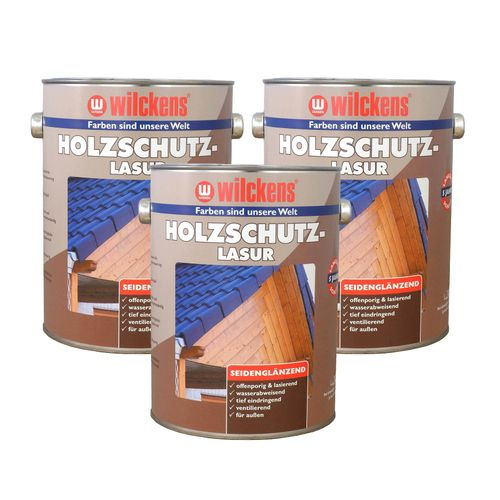 Wood Stain 7 Colours 5 litres Wilckens Protection Glaze  online kaufen