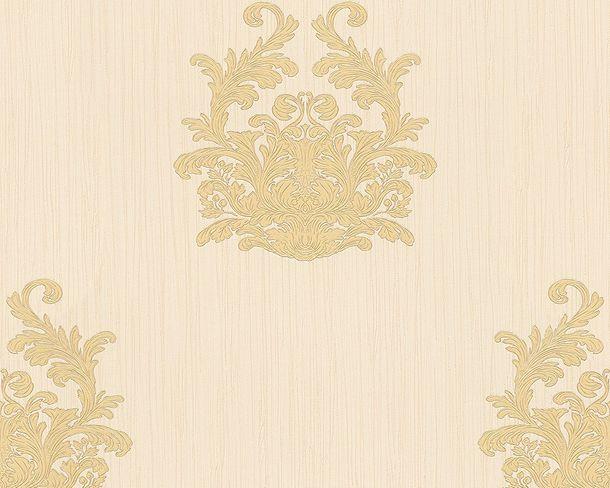 Wallpaper Architects Paper texture cream beige Gloss 95861-4 online kaufen