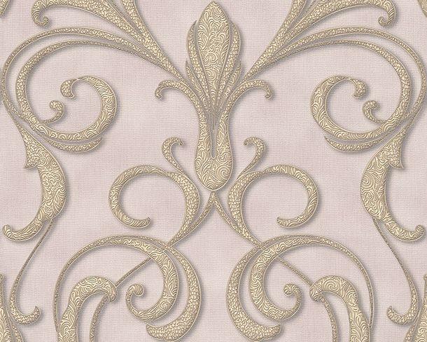 Tapete Vlies Architects Paper Ornament grau Glanz 95892-2
