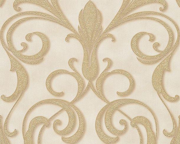 Wallpaper Architects Paper ornaments cream Gloss 95892-5 online kaufen