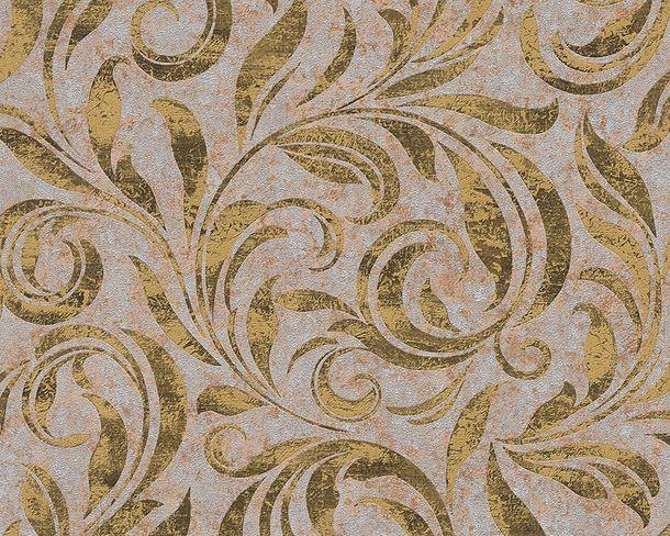 Tapete Vlies Architects Paper Ranken silber gold Glanz 95940-5