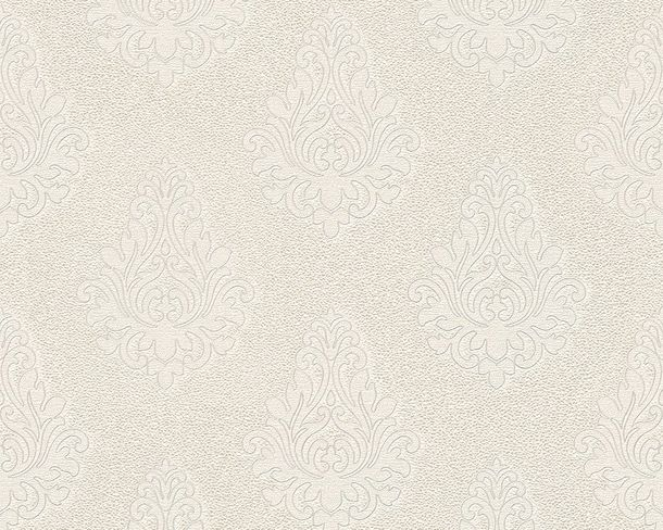 Wallpaper Architects Paper baroque white silver Gloss 95981-2 online kaufen