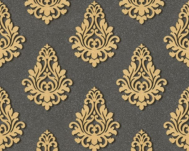 Wallpaper Architects Paper baroque black Gloss 95981-5 online kaufen