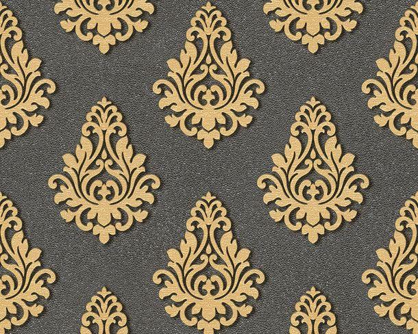 Wallpaper Architects Paper baroque black Gloss 95981-5 online kaufen