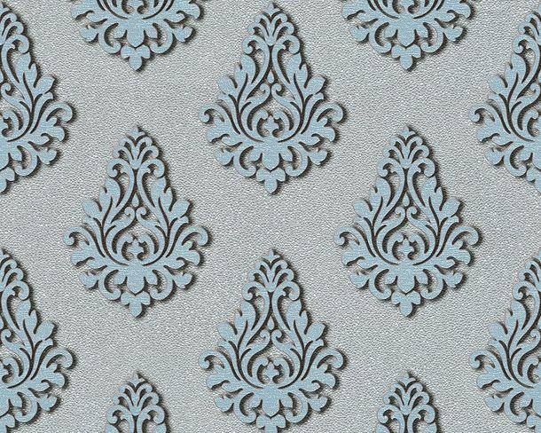 Wallpaper Architects Paper baroque silver Gloss 95981-6 online kaufen