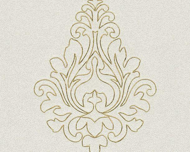 Wallpaper Architects Paper Panel ornaments white Gloss 96982-1 online kaufen