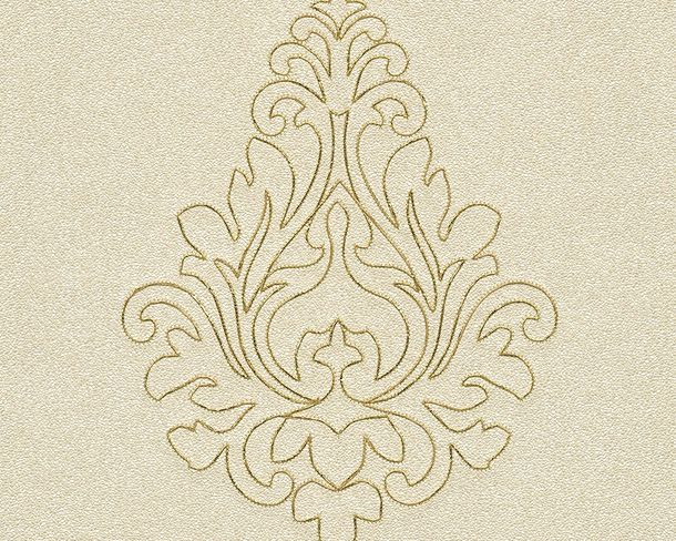 Wallpaper Architects Paper Panel ornaments cream Gloss 96982-2 online kaufen