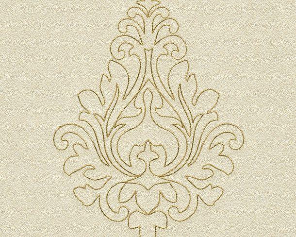 Tapeten Panel Architects Paper Ornament creme Glanz 96982-2
