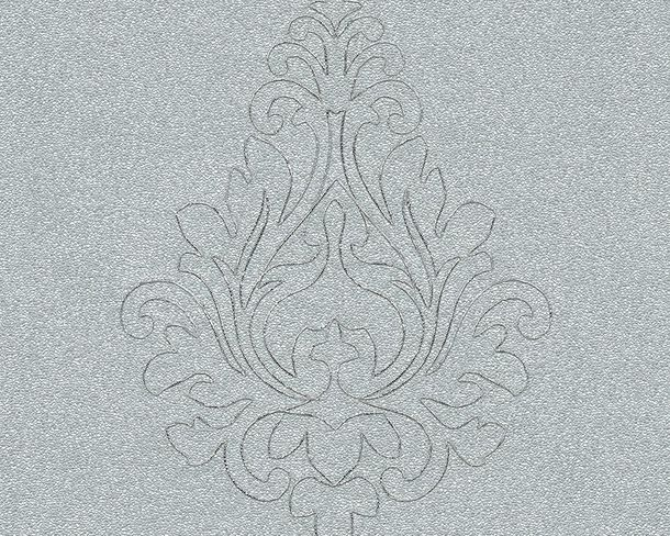Tapeten Panel Architects Paper Ornament silber Glanz 96982-5