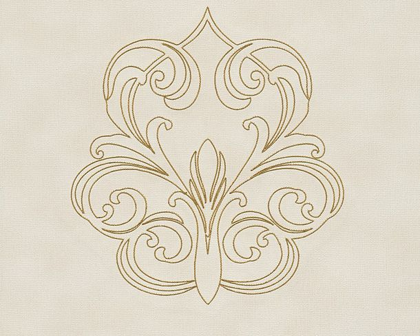 Wallpaper Architects Paper Panel baroque white Gloss 96983-3 buy online