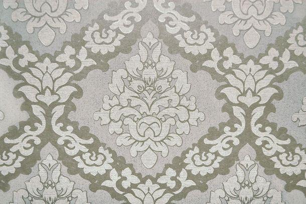 Tapete Vlies Barock silber Glanz Fuggerhaus 4792-15 online kaufen