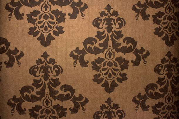 Wallpaper vintage ornaments copper brown Fuggerhaus 4782-49 online kaufen