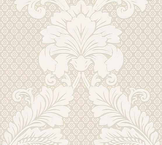 Wallpaper flocked ornaments silver Architects Paper 30544-1 online kaufen