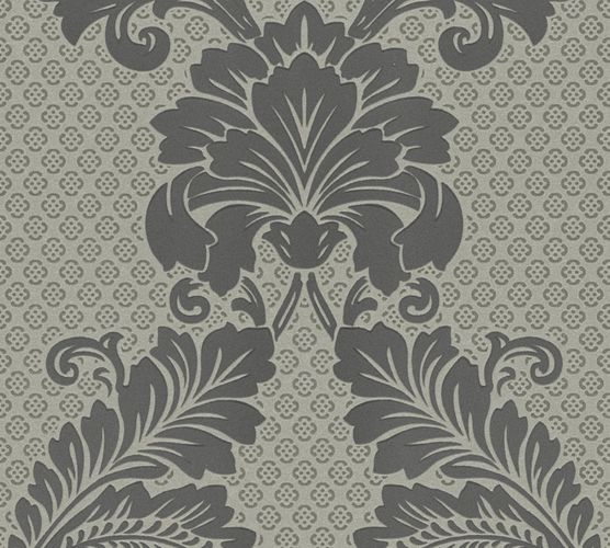 Wallpaper flocked ornaments silver Architects Paper 30544-4 online kaufen