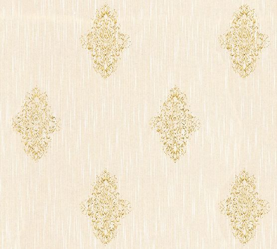 Wallpaper textile ornaments cream Architects Paper 31946-2 online kaufen