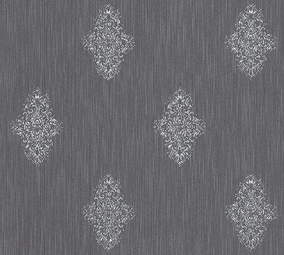 Wallpaper textile ornaments anthracite Architects Paper 31946-4 online kaufen