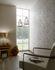 Detail picture Wallpaper leaves beige gloss Fuggerhaus Secret Garden 4808-08 2